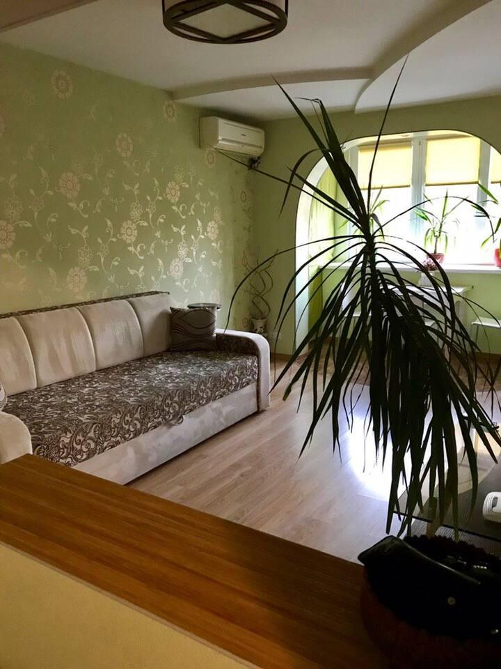 Уютная 2-комнатная квартира, недалеко от парка