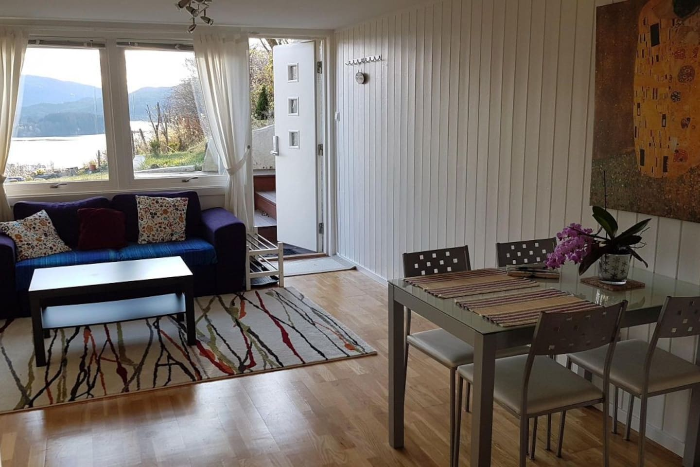 Nice apartment with garden and fantastic views