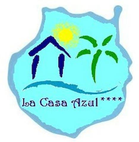 La Casa Azul - Das blaue Gästezimmer