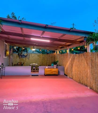 Bamboo View House 3-Beach ~8 min