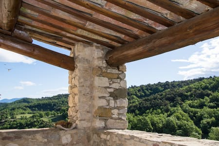 Provence village house with view - Oppedette