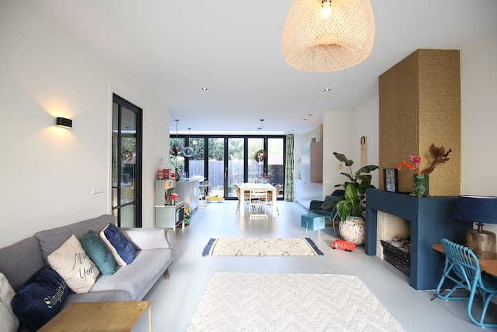 *Family house near Haarlem, beaches&Amsterdam*