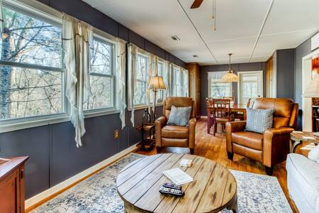 New listing! Delightful, dog-friendly home w/ private gas grill & deck!