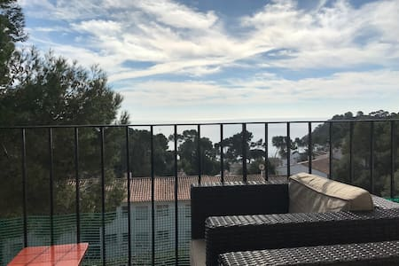 Appartement vue mer 2 chambres à El golfet