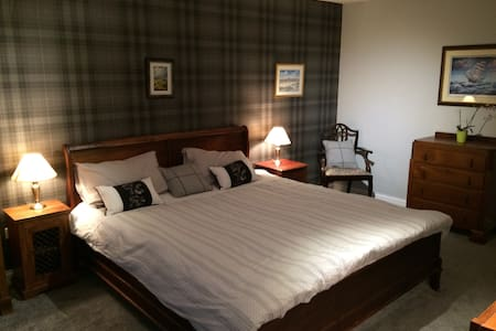 The Tartan Room at Tarskavaig B&B - Radernie - Bed & Breakfast