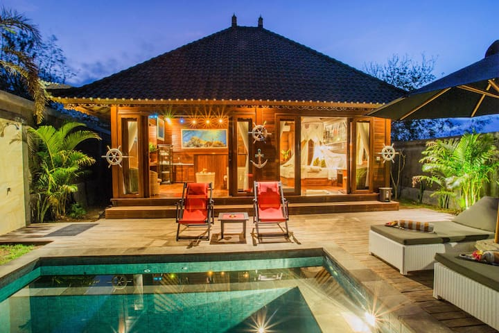 Lembongan Two bedorooms Villa with Private Pool