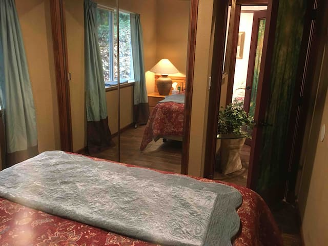 Room 4. Great Forest View and Comfortable Queen Size Bed
