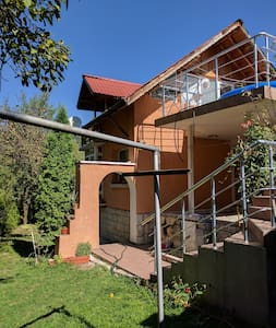 The House With The Three Verandas - hiking, skiing