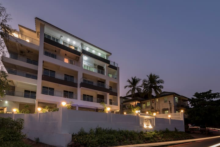 Candolim / Verem, Sea View Boutique Apartment 201 - Reis Magos