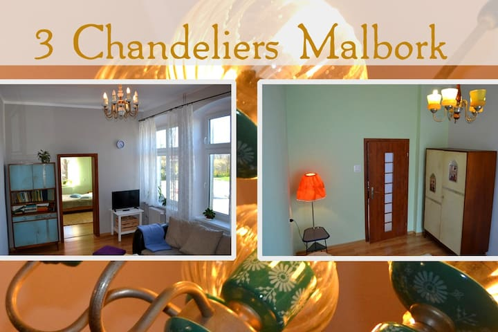3 Chandeliers Apartment - Malbork - Apartment