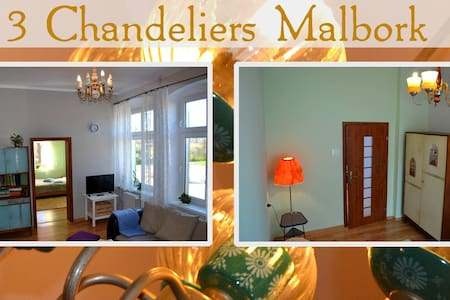 3 Chandeliers Apartment - Malbork - 公寓