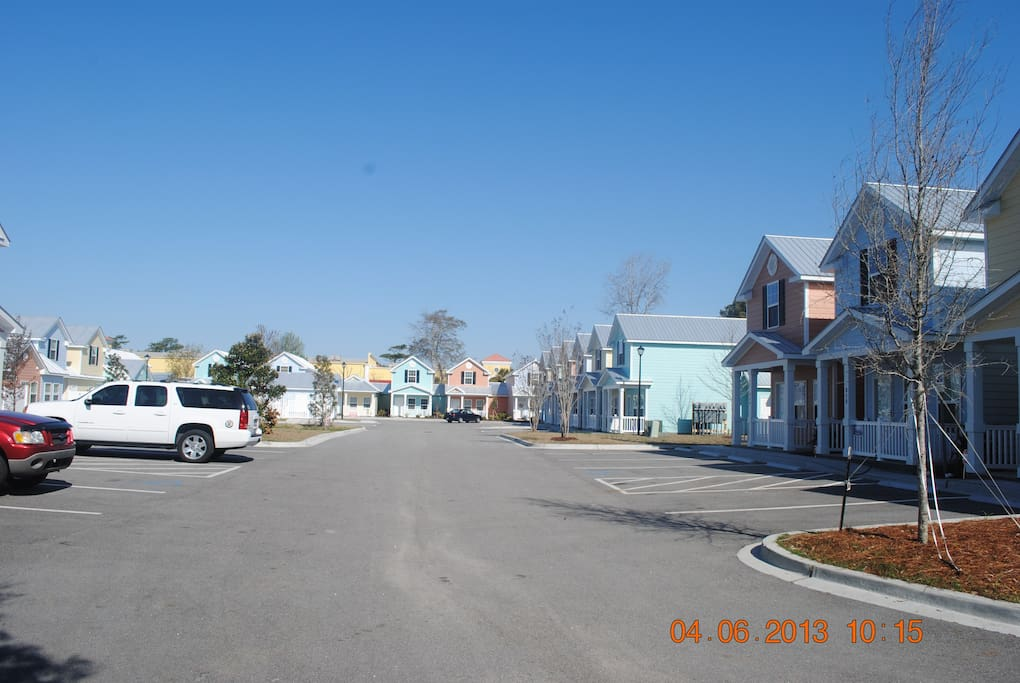 Gulfstream cottages, a brand new and quiet neighborhood.
