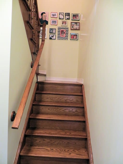 Stairs to the Bedroom (First Floor)