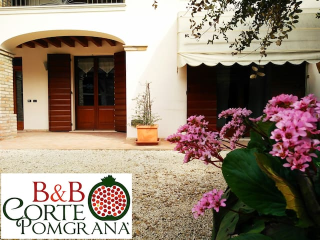 Your home in Court Pomgrana' B&B - Casaloldo