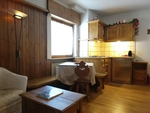 Tiny apartament near Cortina