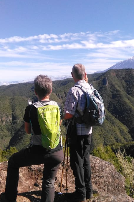 Great views of Mount Teide