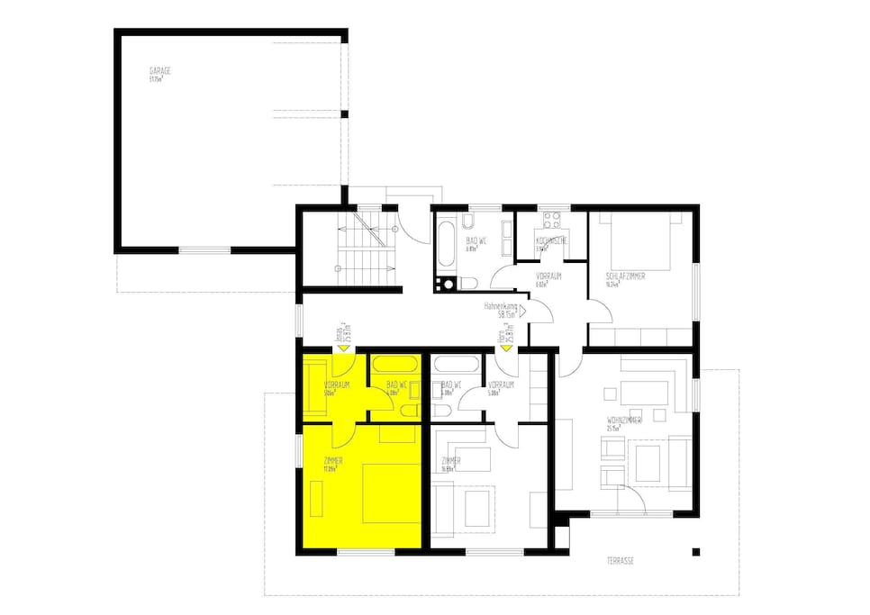 room Jonas: floor plan