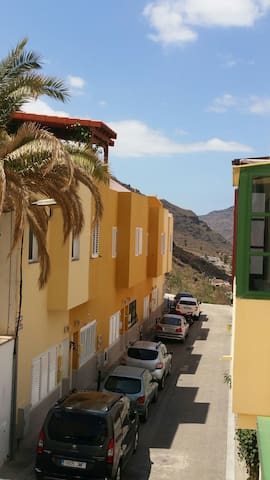 Friendly, sunny flat, Mogan village - Mogán - Apartamento