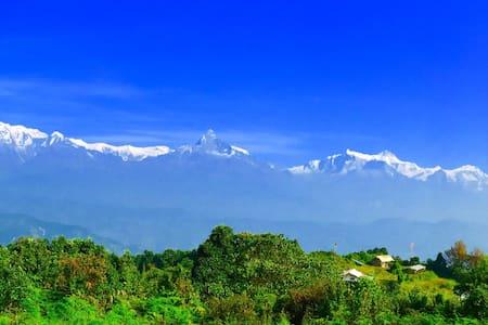 AdamTribe Mountain Inn (1800m) B&B - Pokhara