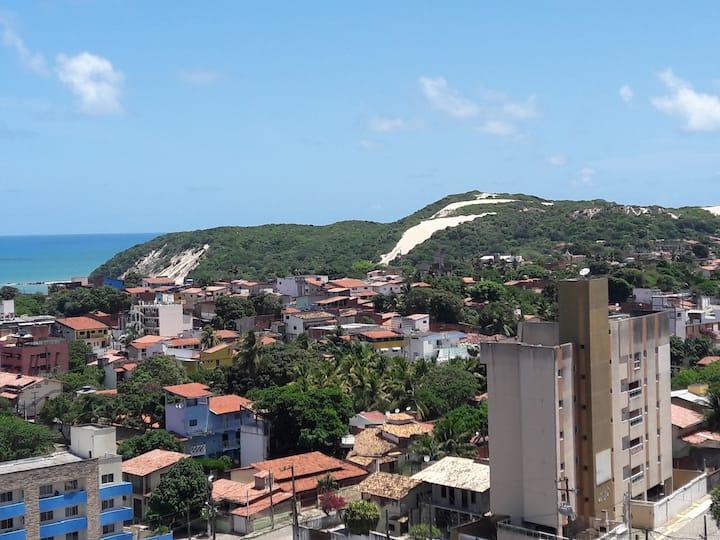Apto Ponta Negra vista do Cartão Postal de natal!