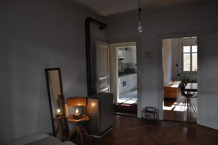 Cosy apartment in Kleinbasel - Basel - Daire