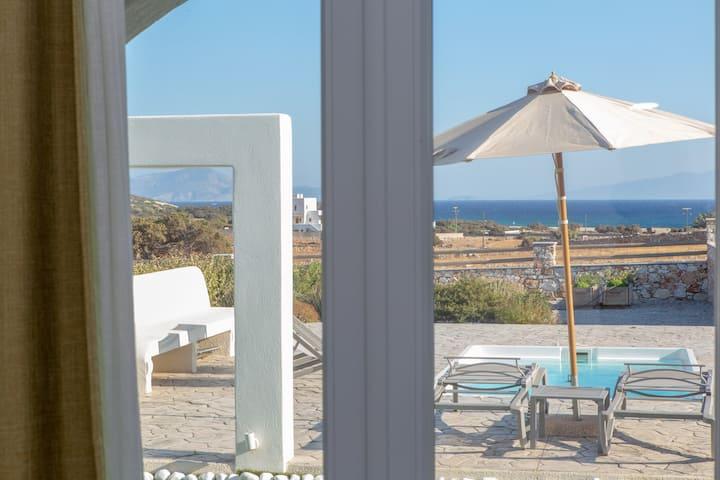 Two Bedroom Villa Private Pool & Sea View (Green)