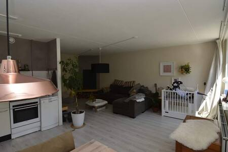 Apartment with garden, 10 m from beach with bike - Heiloo