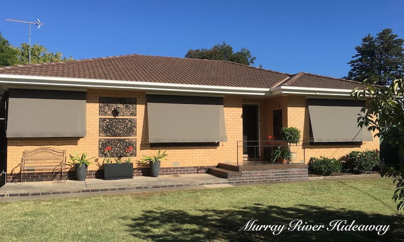 Murray River Hideaway (5 min walk to river/beach)