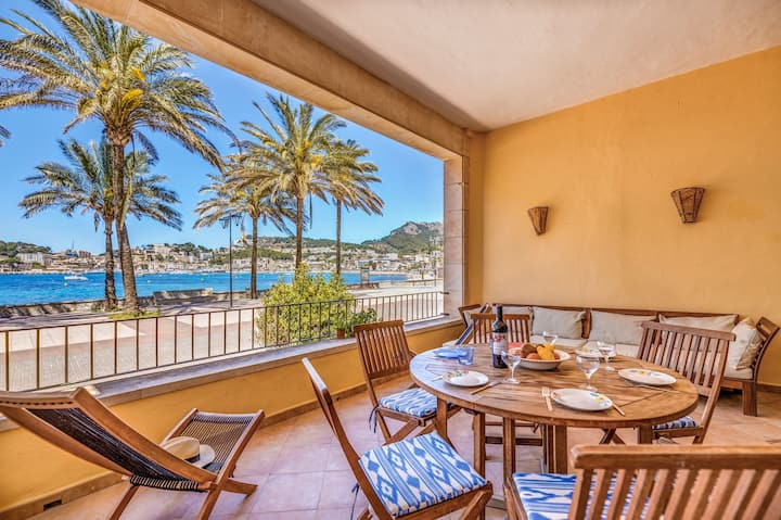 Lovely Apartment On the Beach with Beautiful Terraces and Wi-Fi