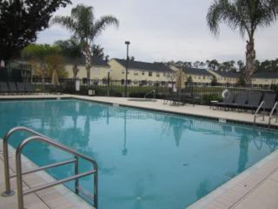Community heated pool