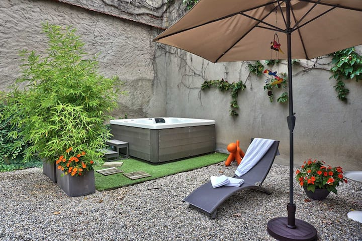 Villa privative avec spa