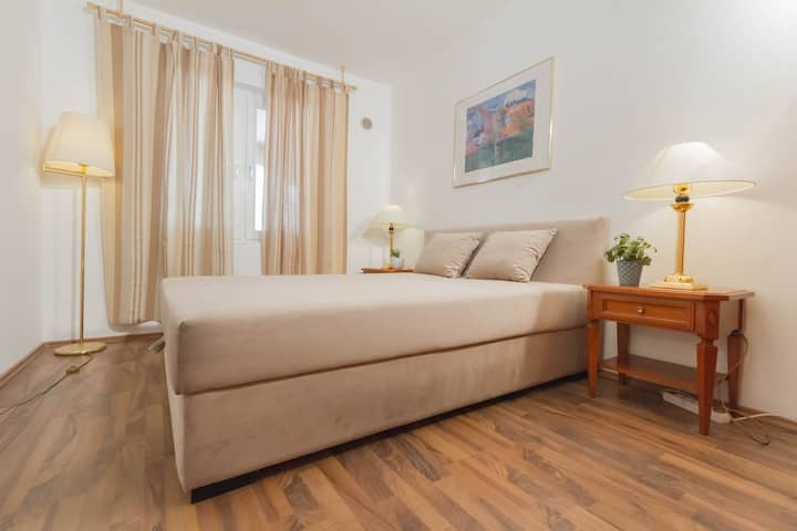 Comfortable apartment for 2+1, 5 min from beach