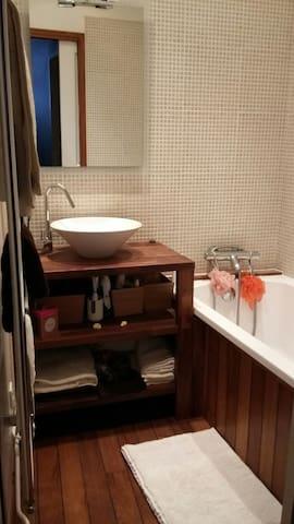 Chambre familial (seul ou à deux) - Romans-sur-Isère - Apartamento