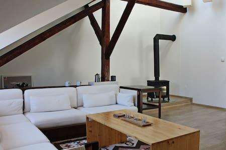 Attic with parking, in the center of ČB - Ceske Budejovice - Loft