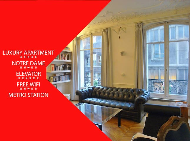 Amazing apartment near Notre Dame