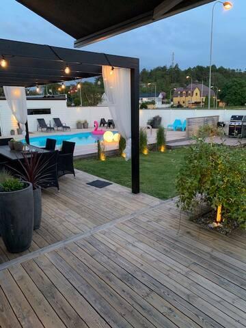 Villa med pool Västra Göteborg