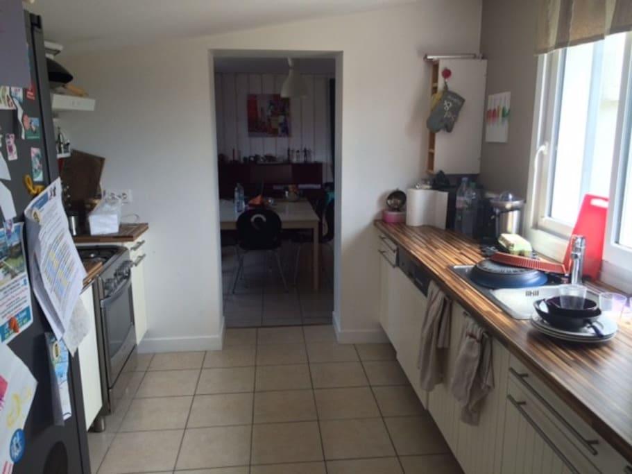 entrée cuisine