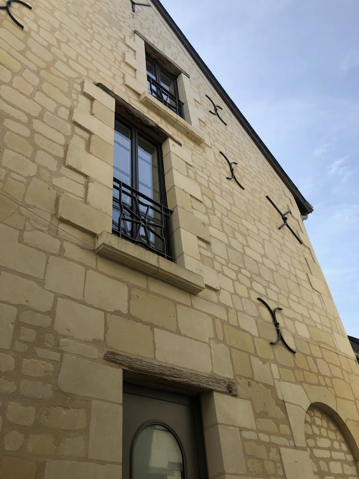 Gîte du Temple - Logements centre Bourgueil