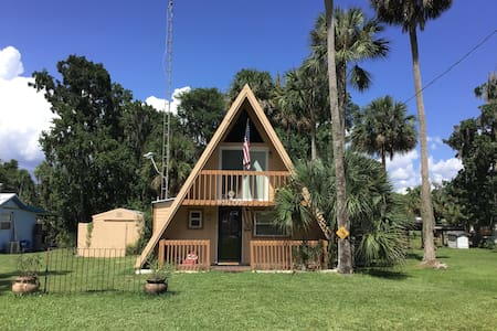 Salt Springs Soulful A-frame Retreat