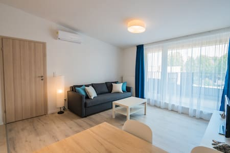 """Surf Beach"" Downtown Apartment Gold Coast Siófok"