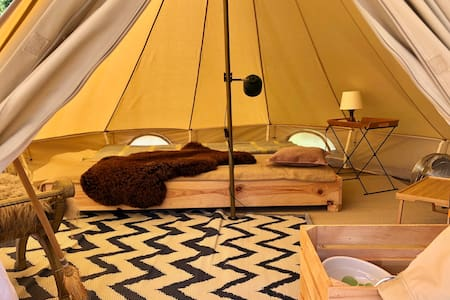 6. Glamping Camping Dijk&Meer Incl privé sanitair