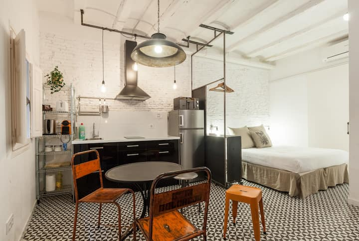 Most centric loft in Barcelona