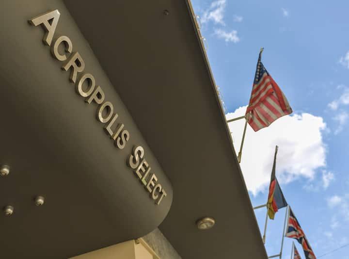 Acropolis Select Hotel, Twin Room.