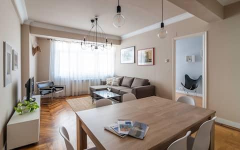 Apartamento Juan Flórez, luminoso _Limpieza Ozono_