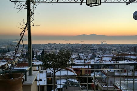 Terrace studio in Old Town - Thessaloniki