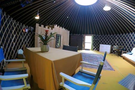 Yourte contemporaine de 50 m2 - Quistinic