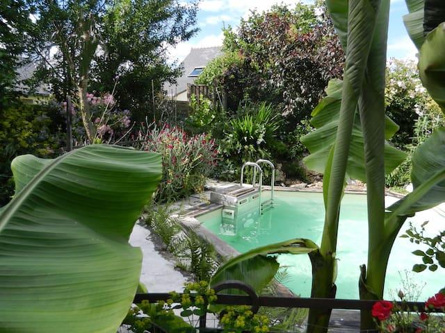 Gites 8 pers piscine près de Nantes - Sucé-sur-Erdre - Apartemen