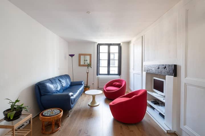 Duplex 3 chambres en plein centre ville