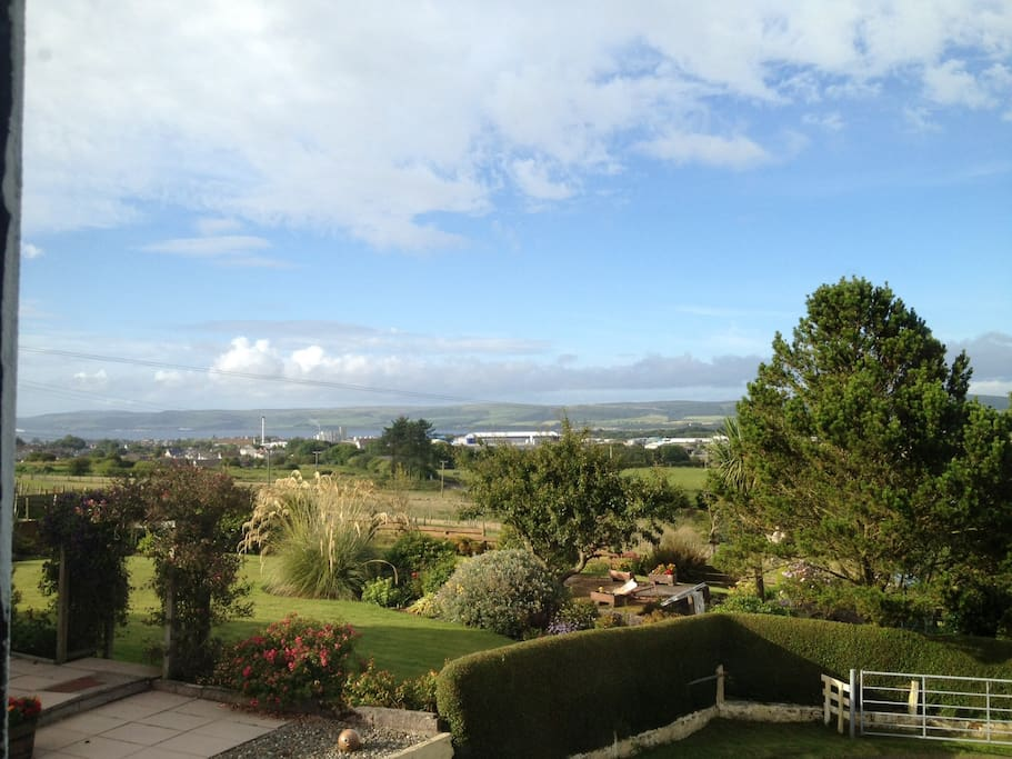 Views from Property overlooking Stranraer