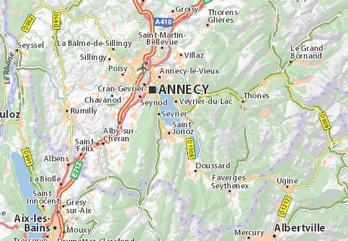 STUDIO 35m2 Annecy, balcon VUE LAC - Annecy-le-Vieux - Apartmen